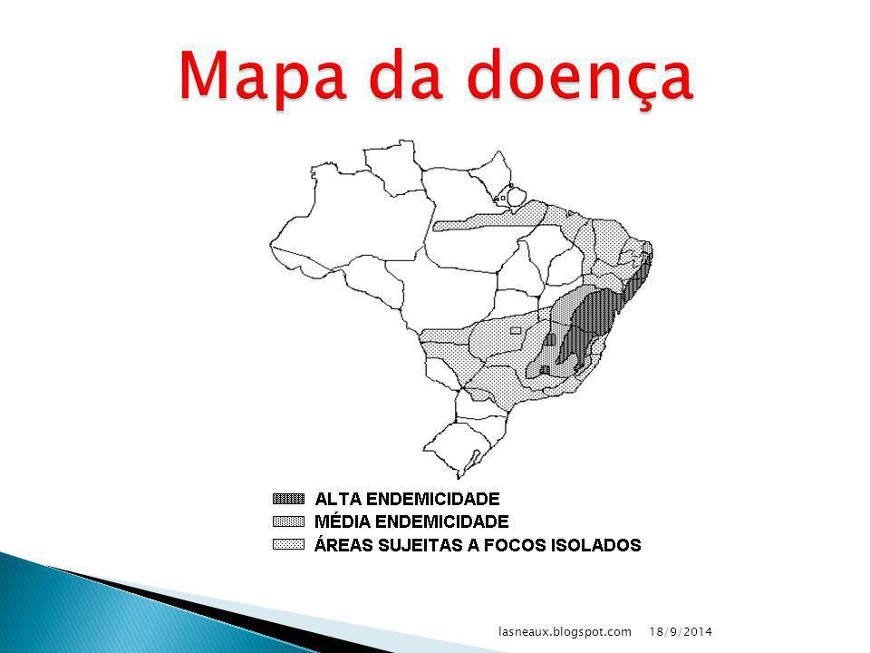 Mapa da doença lasneaux.blogspot.com 02/04/2017