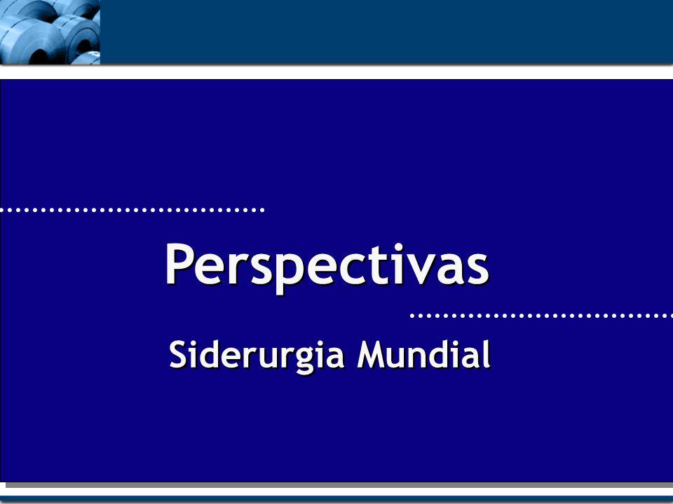 Perspectivas Siderurgia Mundial