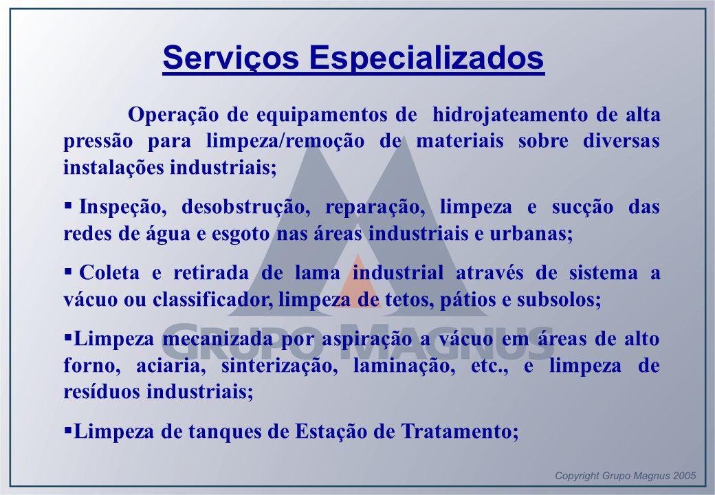 Serviços Especializados