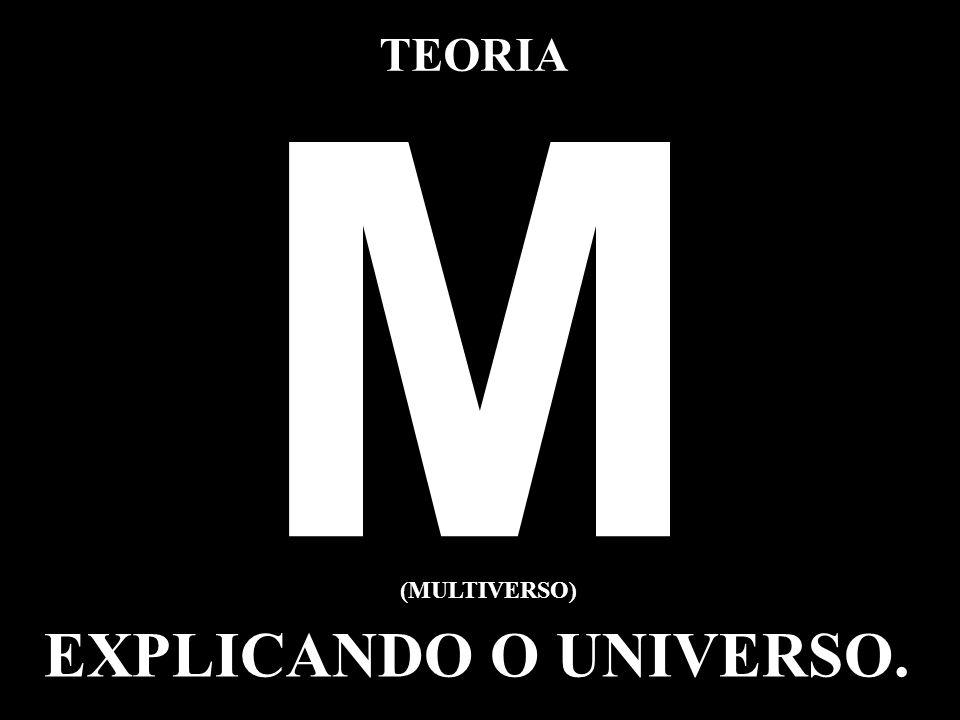 TEORIA M (MULTIVERSO) EXPLICANDO O UNIVERSO.