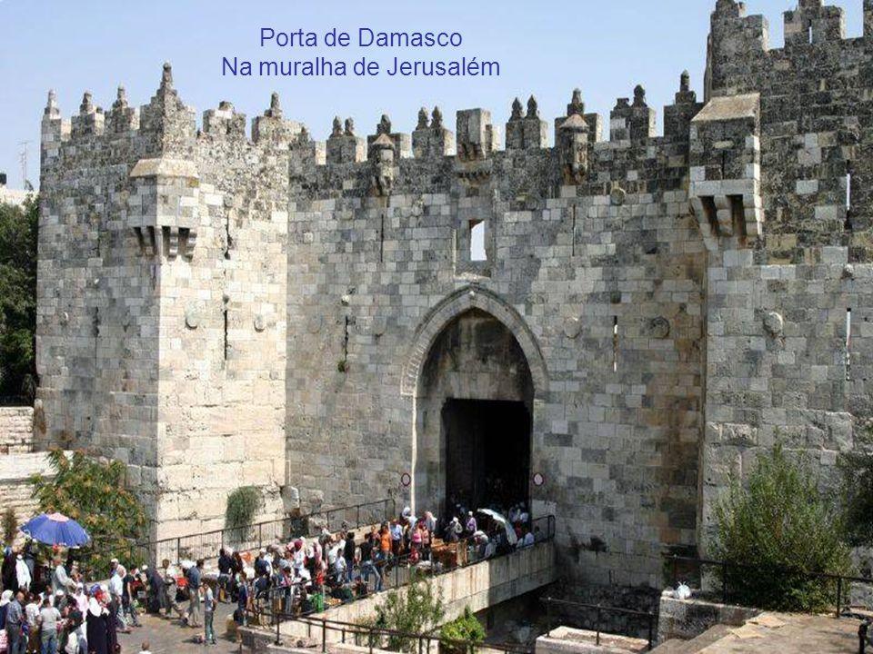 Na muralha de Jerusalém