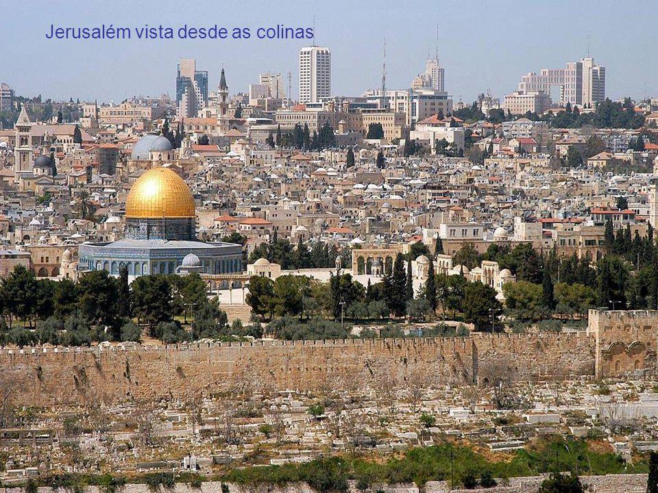 Jerusalém vista desde as colinas