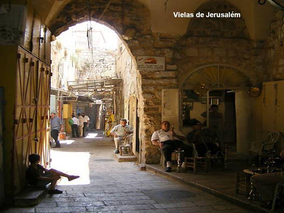 Vielas de Jerusalém