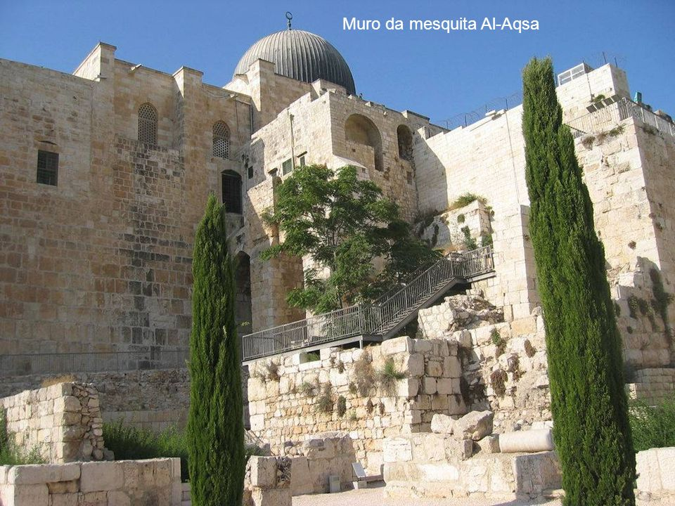 Muro da mesquita Al-Aqsa