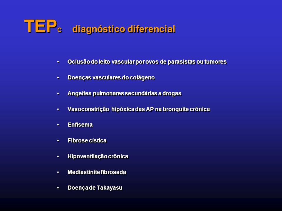TEPC diagnóstico diferencial