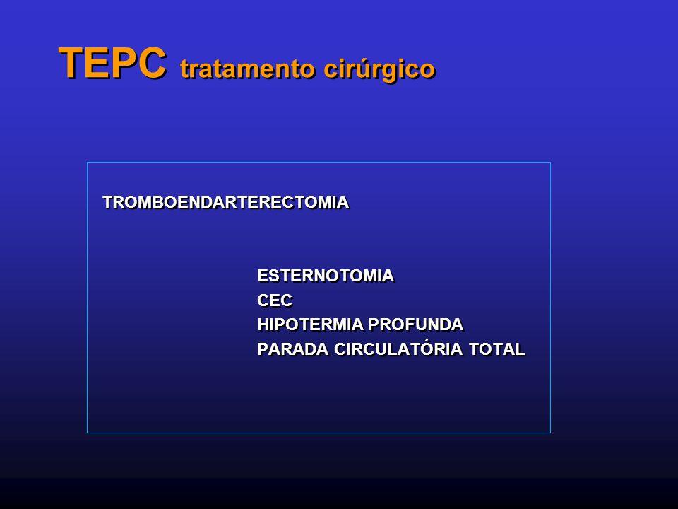 TEPC tratamento cirúrgico