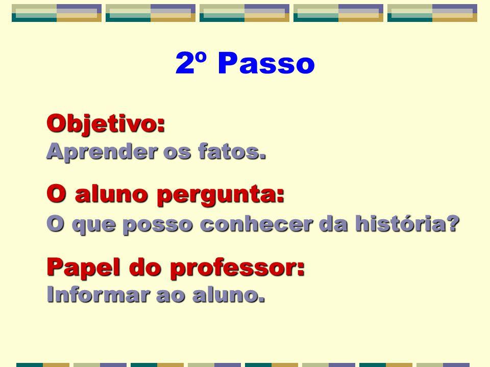 2º Passo Objetivo: Aprender os fatos.