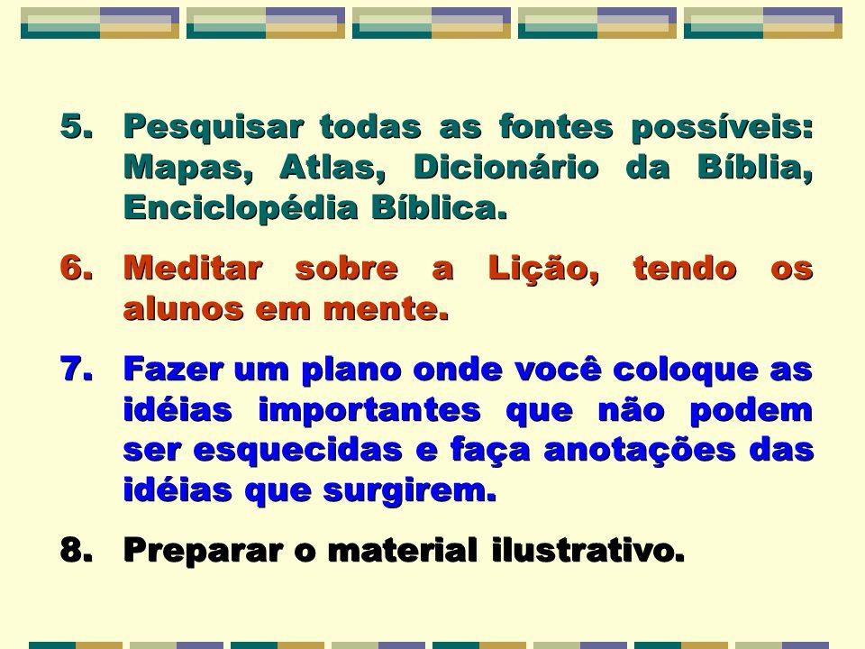 Pesquisar todas as fontes possíveis: Mapas, Atlas, Dicionário da Bíblia, Enciclopédia Bíblica.