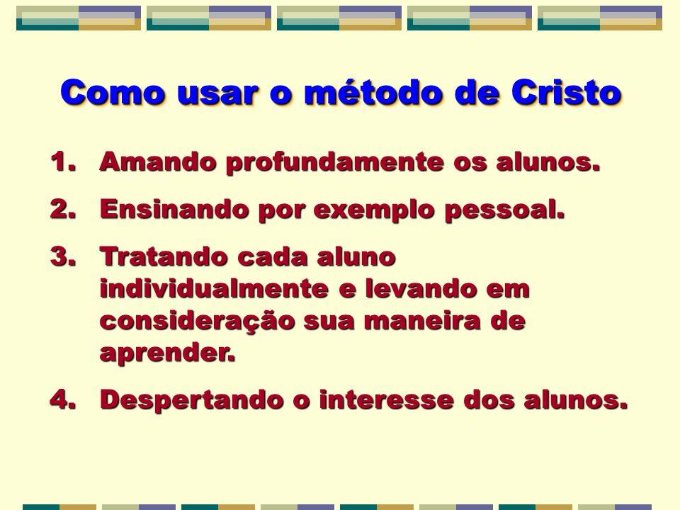 Como usar o método de Cristo