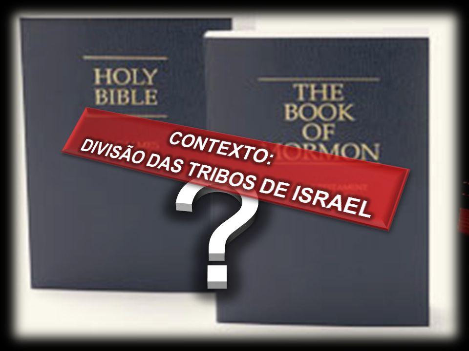 DIVISÃO DAS TRIBOS DE ISRAEL
