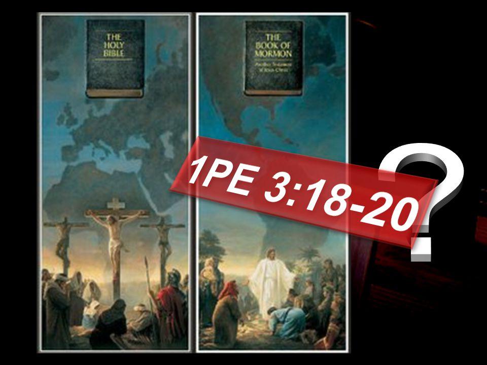 1PE 3:18-20