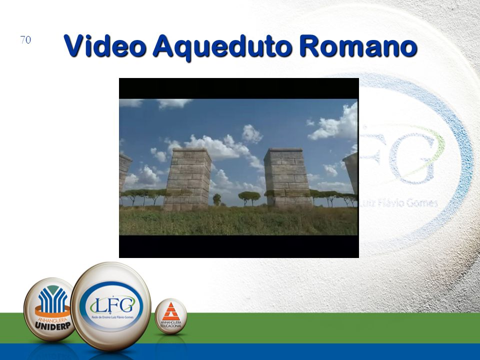 Video Aqueduto Romano 70