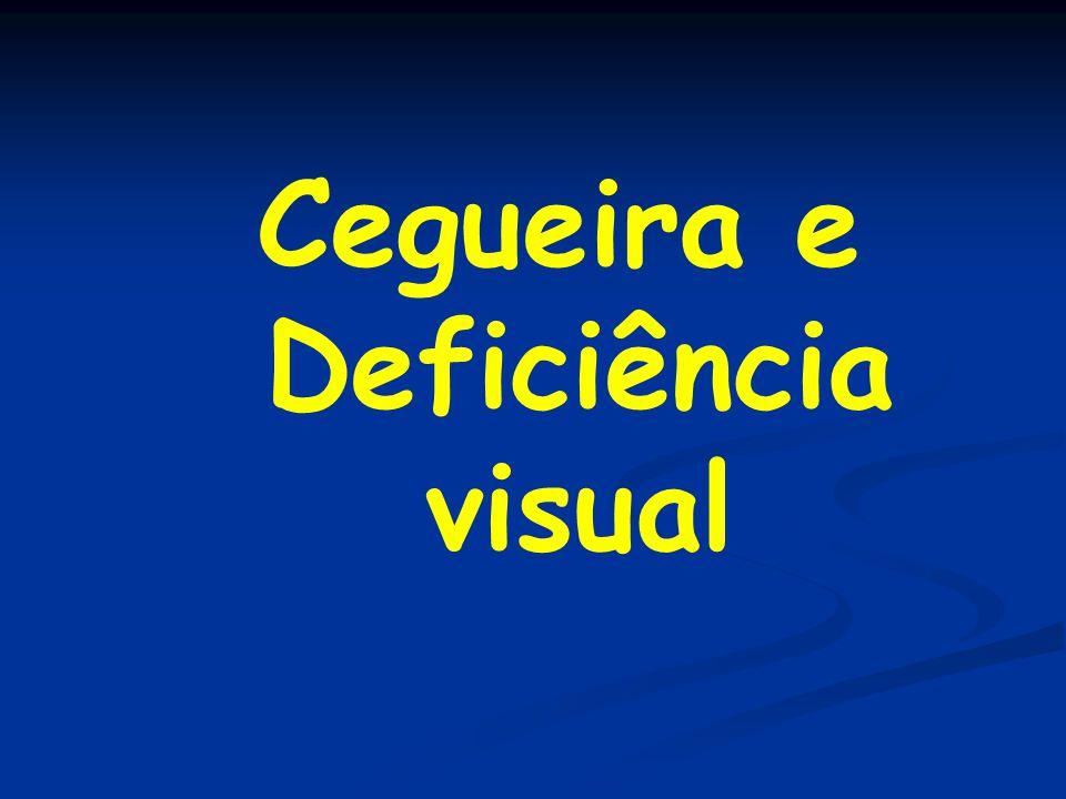 Cegueira e Deficiência visual