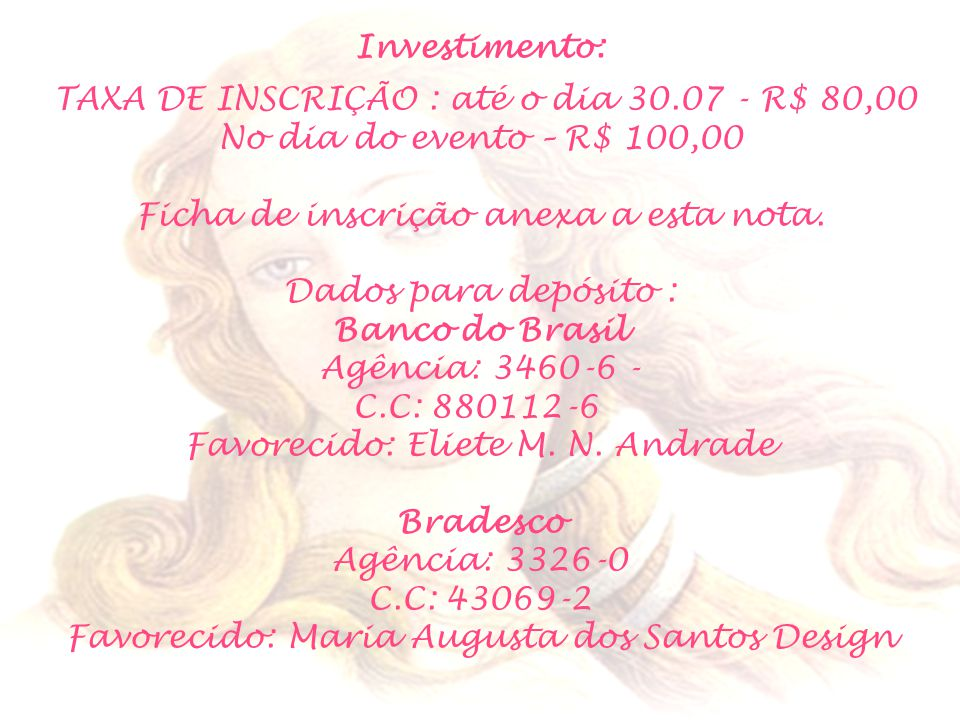 Investimento: Banco do Brasil Bradesco