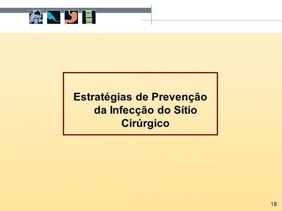 Estratégias de Prevenção da Infecção do Sítio Cirúrgico