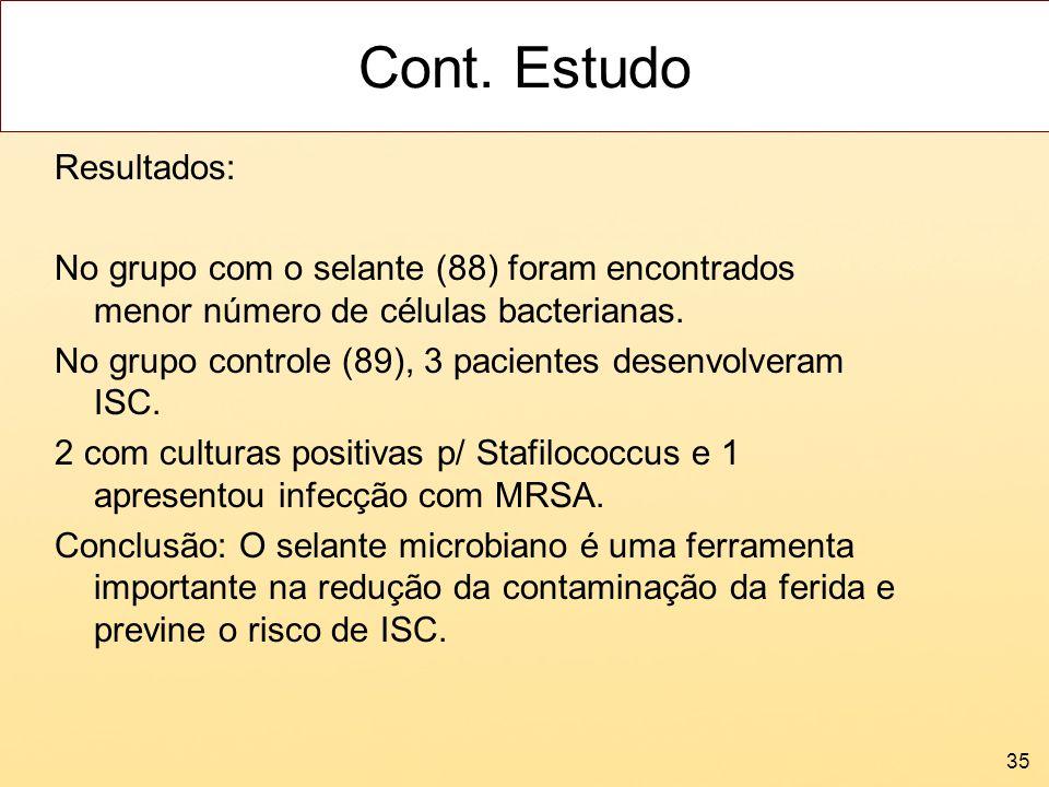 Cont. Estudo