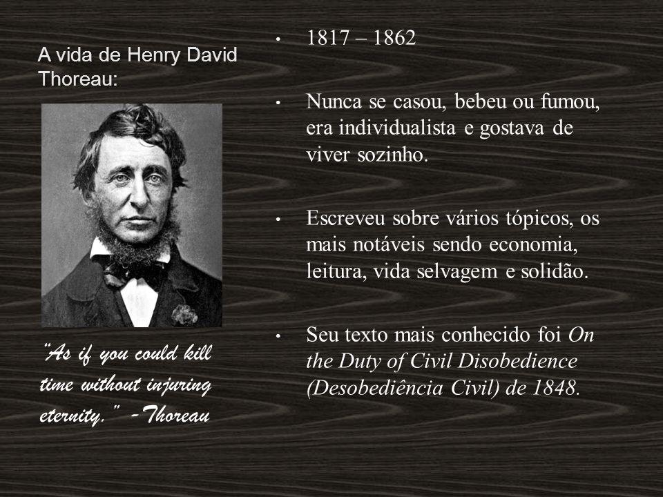 A vida de Henry David Thoreau: