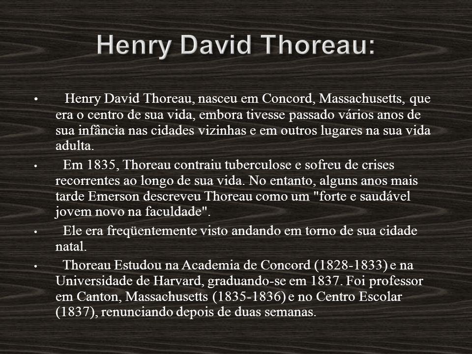 Henry David Thoreau: