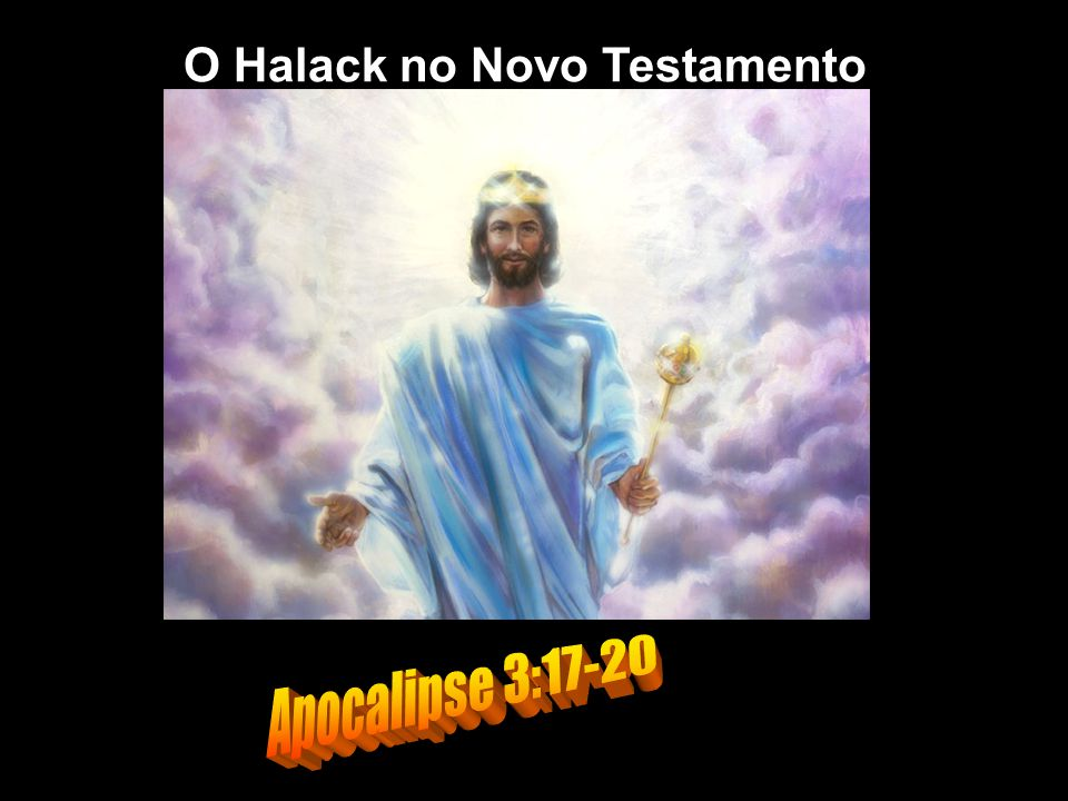 O Halack no Novo Testamento
