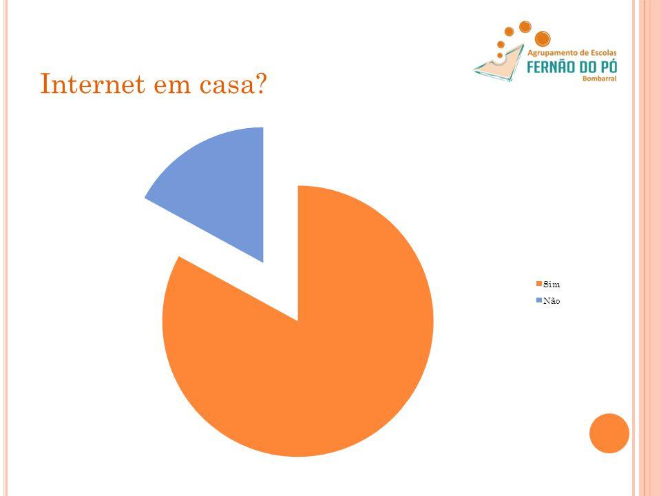 Internet em casa
