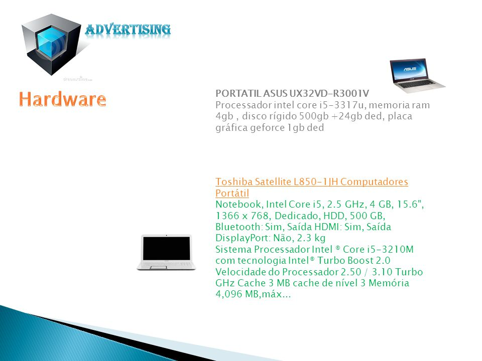 Hardware Advertising PORTATIL ASUS UX32VD-R3001V