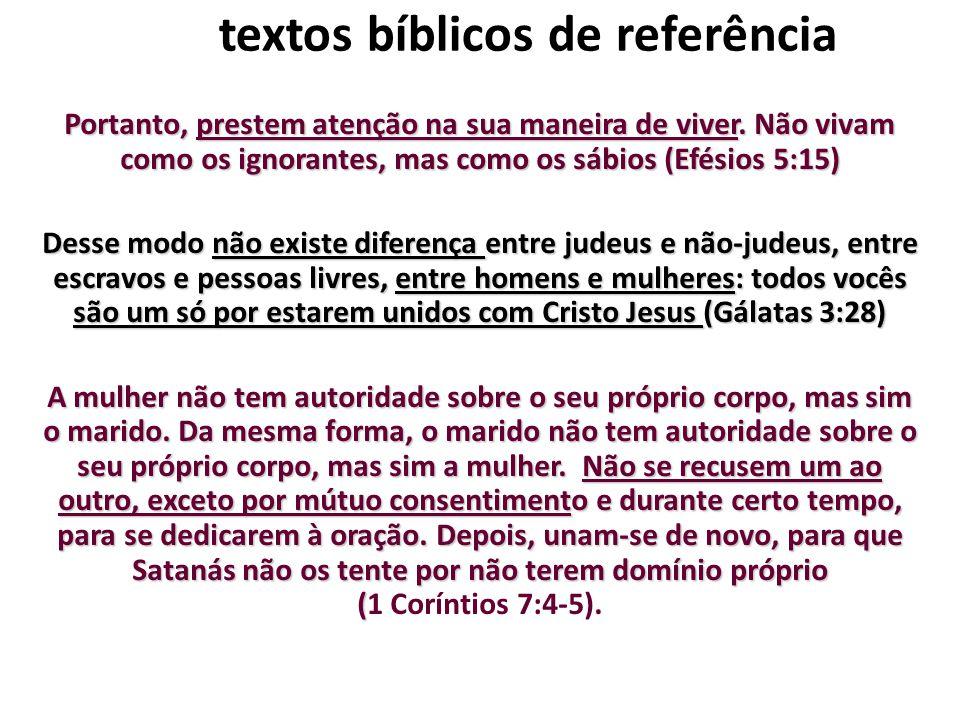 textos bíblicos de referência