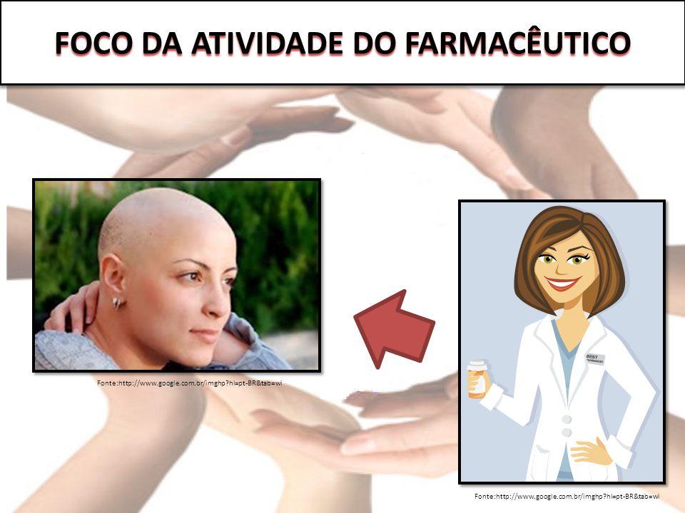 FOCO DA ATIVIDADE DO FARMACÊUTICO