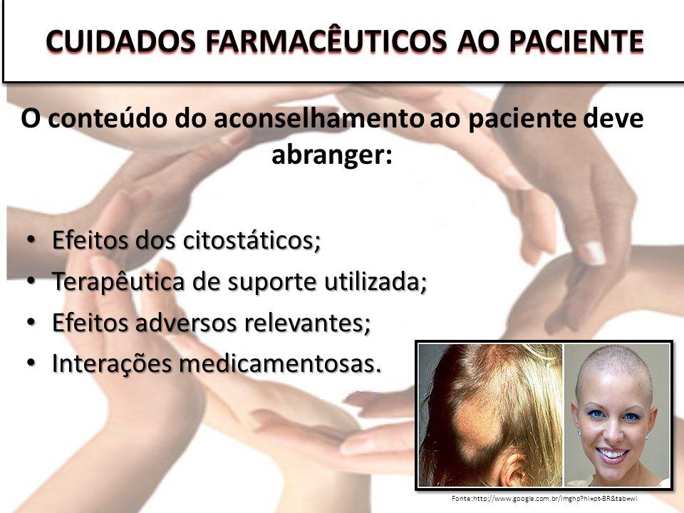 CUIDADOS FARMACÊUTICOS AO PACIENTE