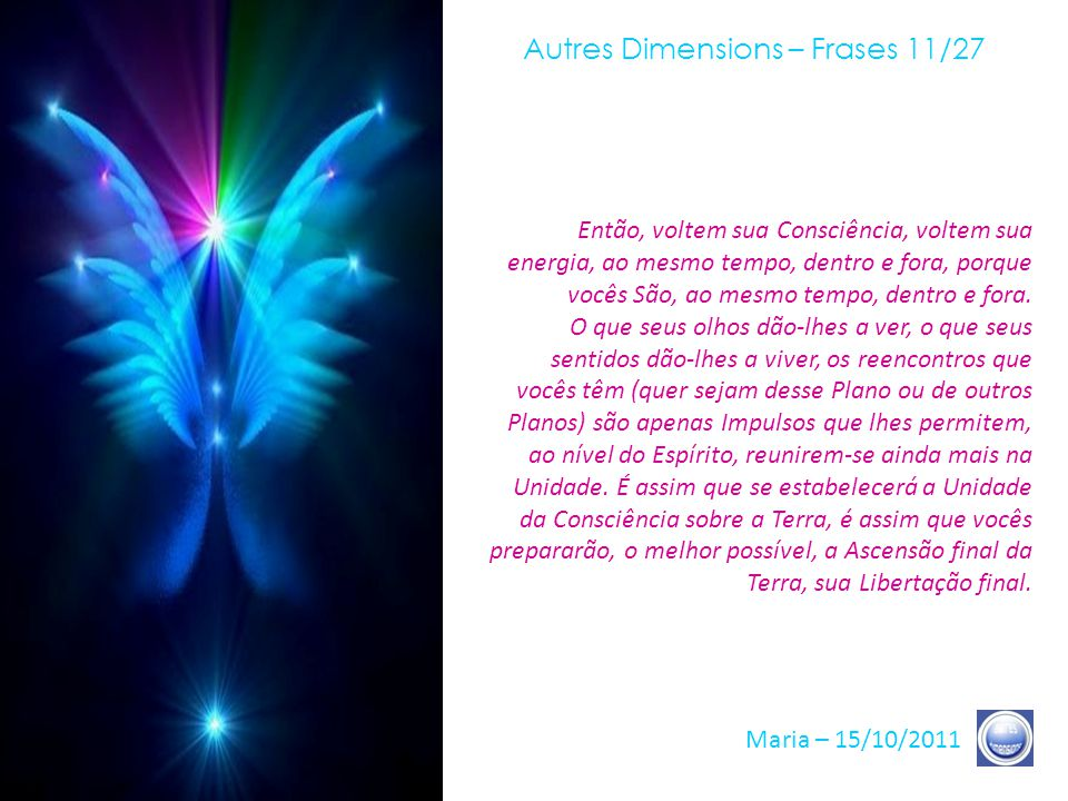 Autres Dimensions – Frases 11/27