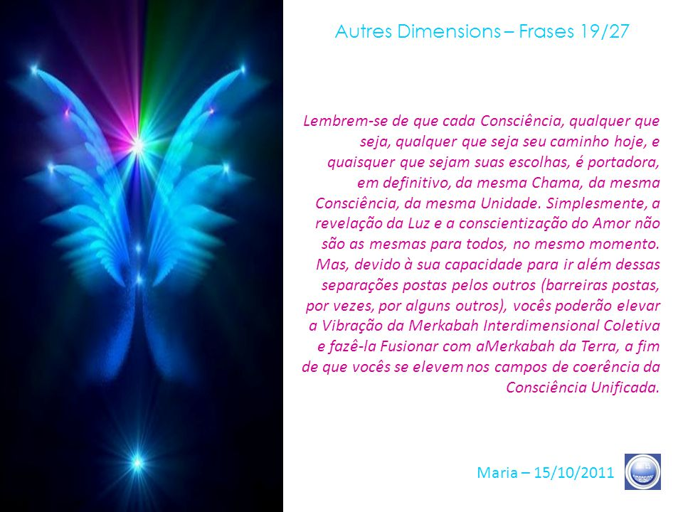 Autres Dimensions – Frases 19/27