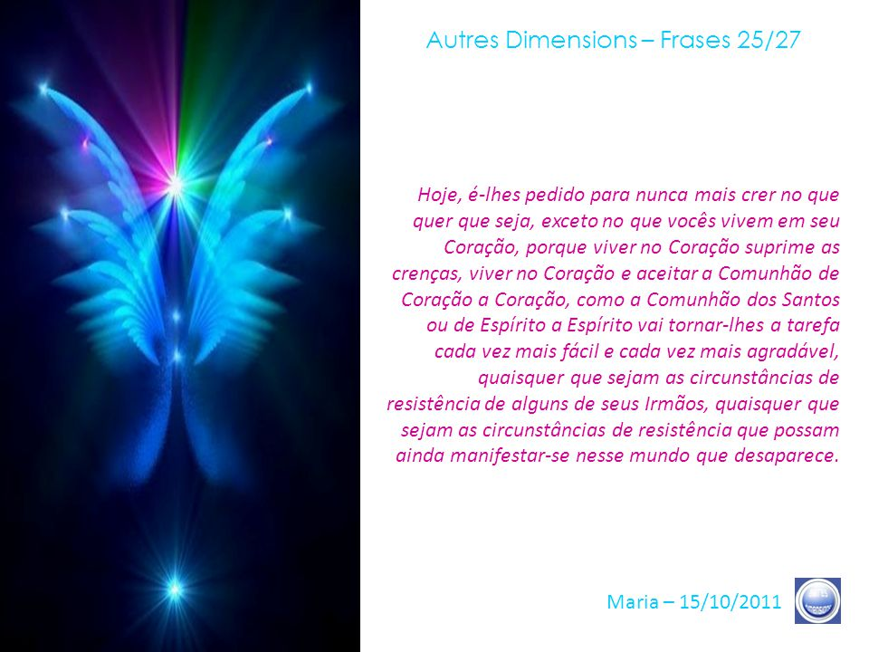 Autres Dimensions – Frases 25/27