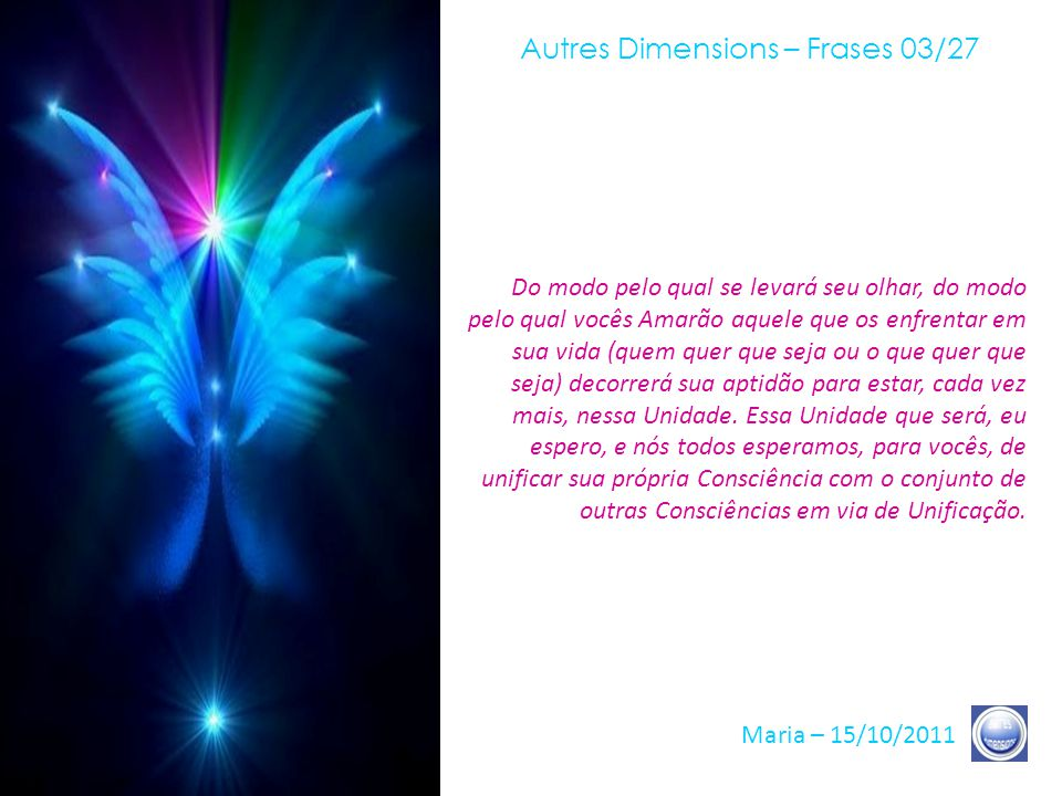 Autres Dimensions – Frases 03/27