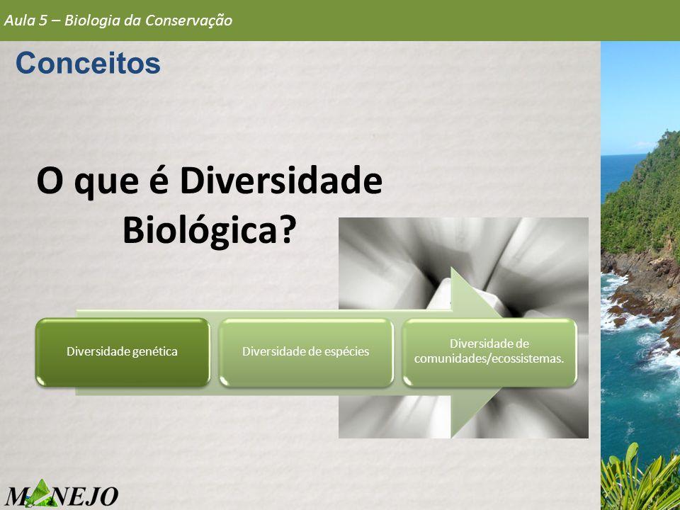 O que é Diversidade Biológica
