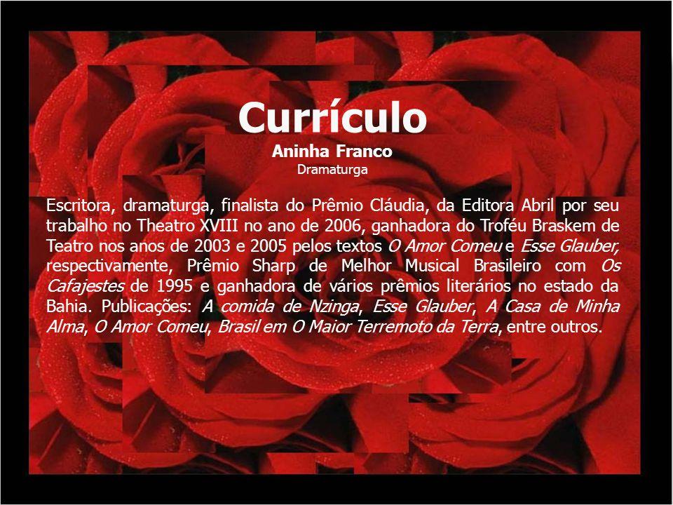Currículo Aninha Franco