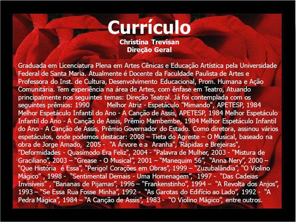 Currículo Christina Trevisan Direção Geral