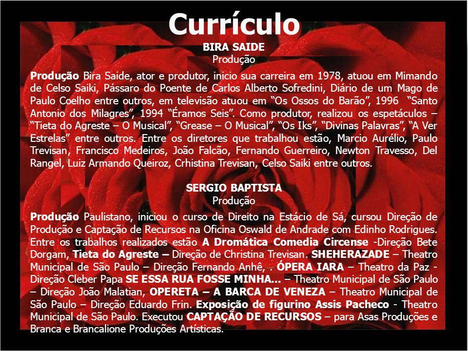 Currículo BIRA SAIDE Produção