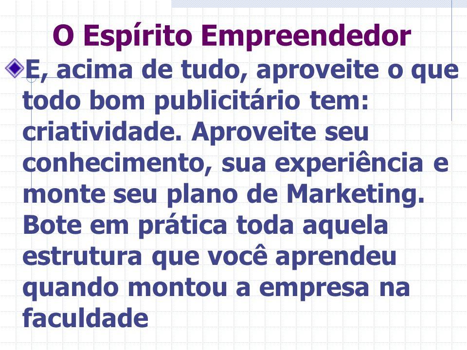 O Espírito Empreendedor
