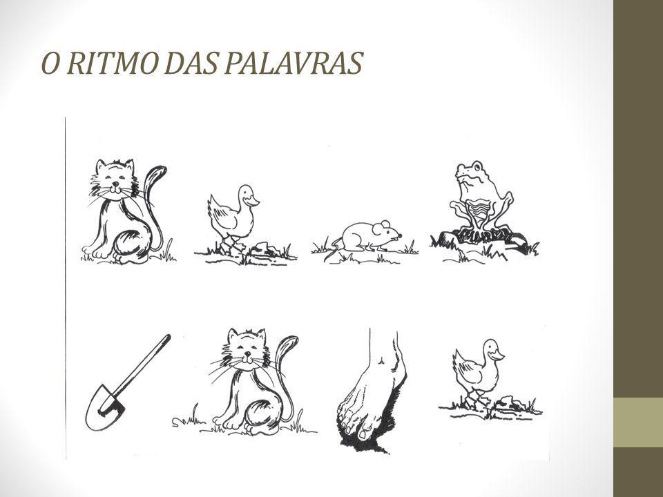 O RITMO DAS PALAVRAS