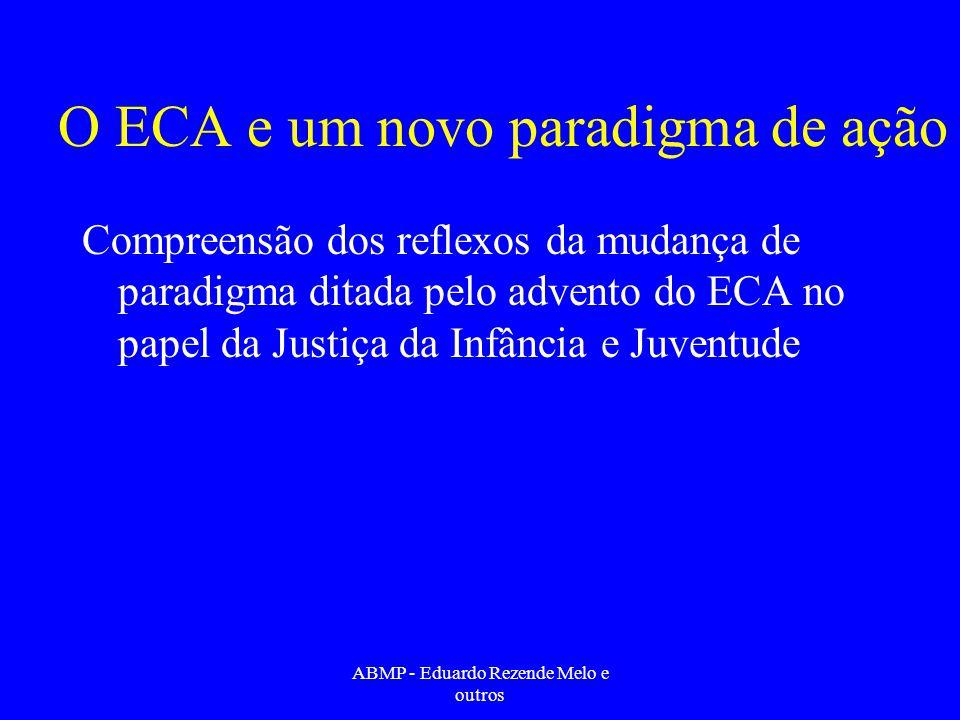 O ECA e um novo paradigma de ação