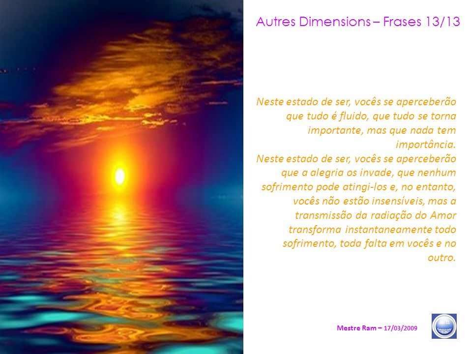 Autres Dimensions – Frases 13/13