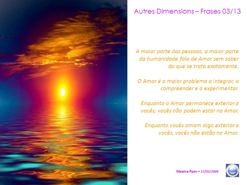 Autres Dimensions – Frases 03/13