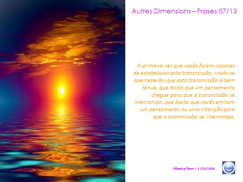 Autres Dimensions – Frases 07/13