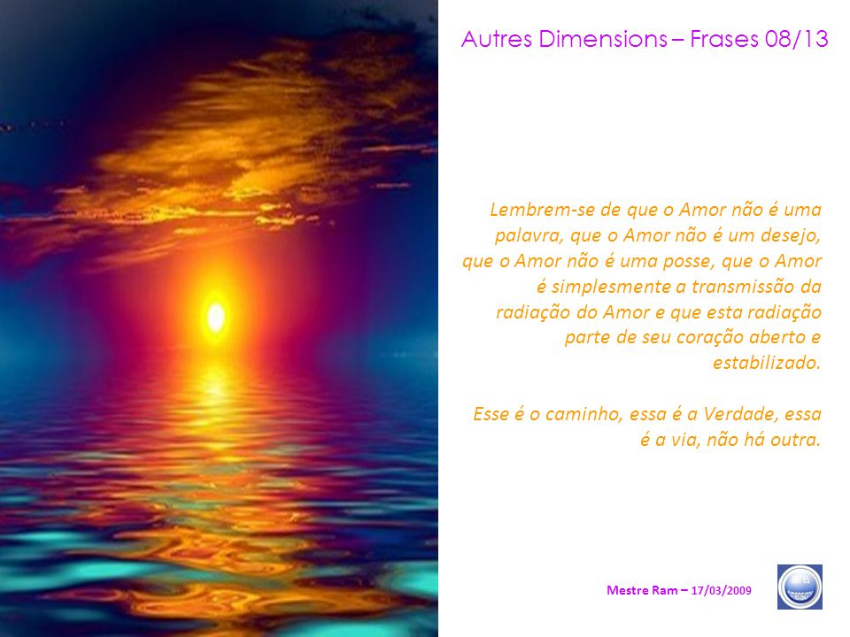 Autres Dimensions – Frases 08/13