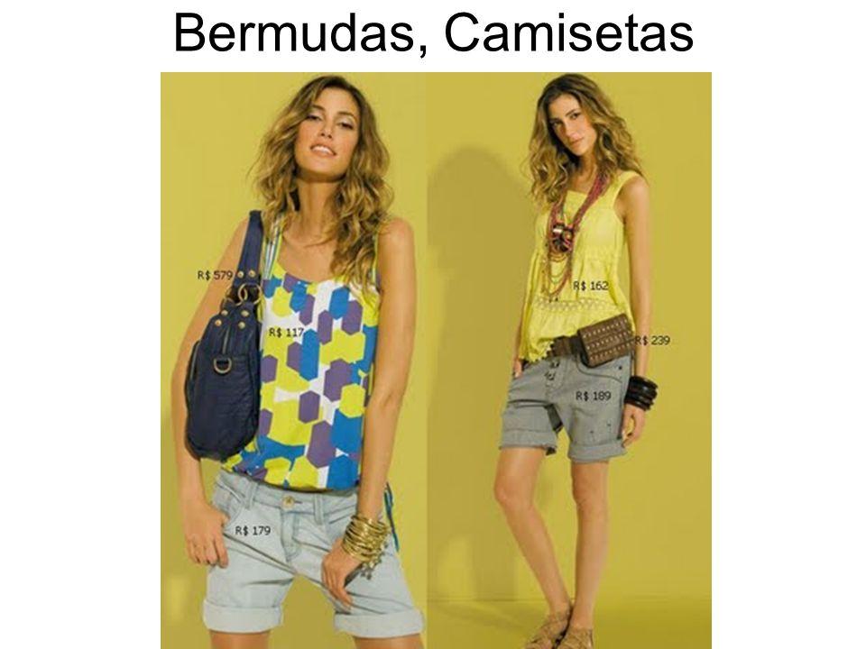 Bermudas, Camisetas