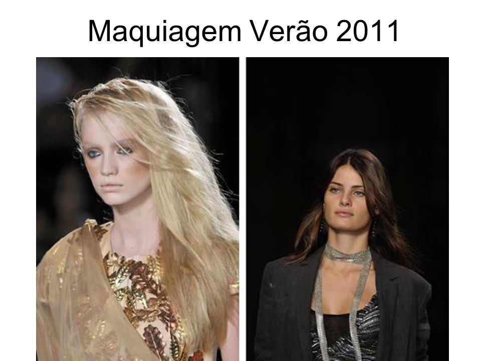 Maquiagem Verão 2011