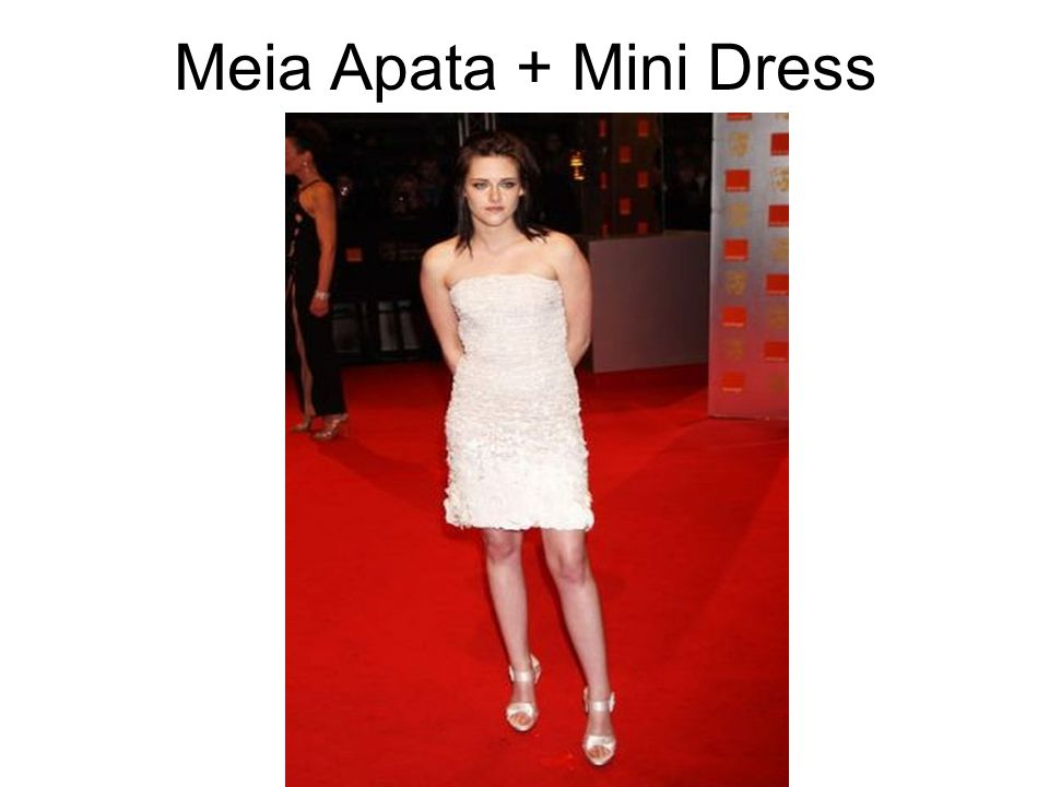 Meia Apata + Mini Dress