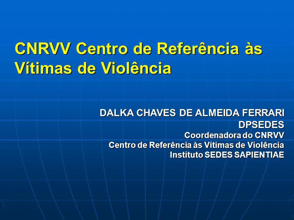 CNRVV Centro de Referência às Vítimas de Violência