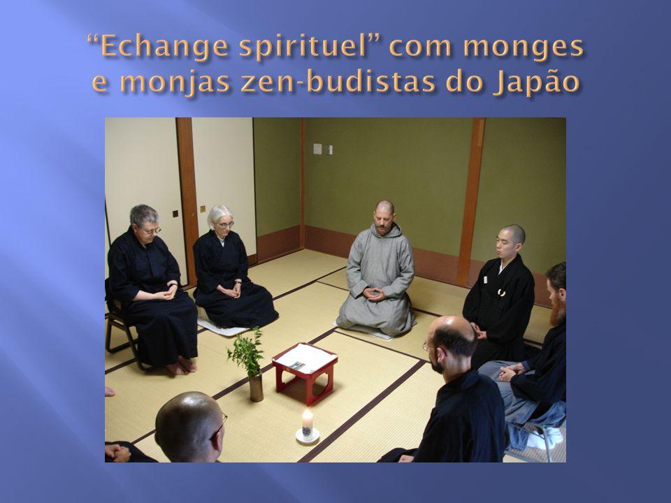 Echange spirituel com monges e monjas zen-budistas do Japão