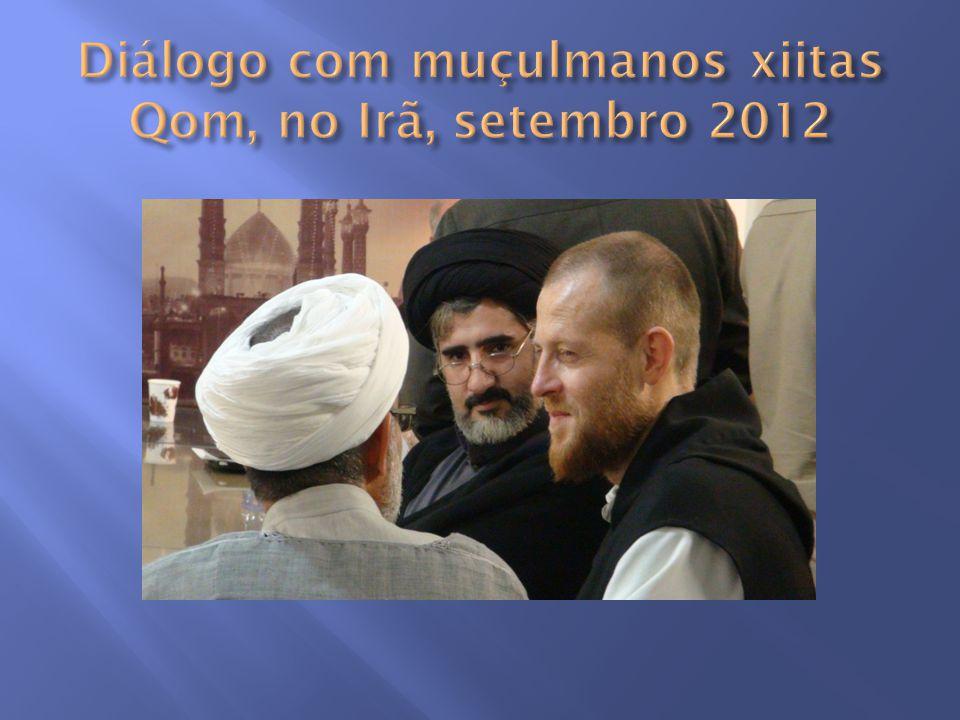 Diálogo com muçulmanos xiitas Qom, no Irã, setembro 2012