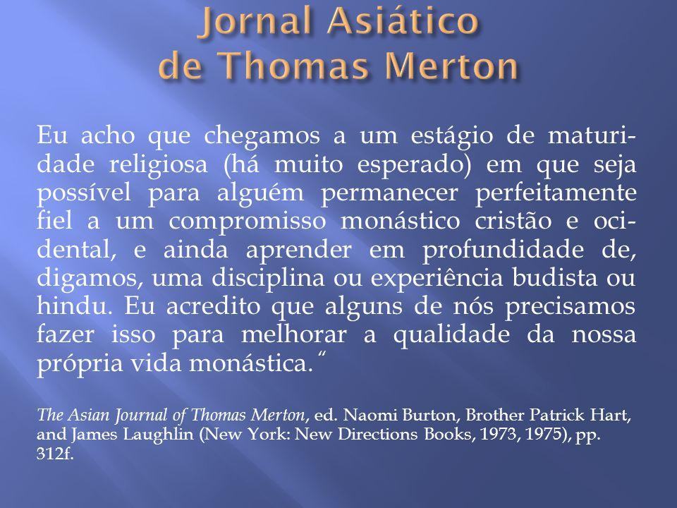 Jornal Asiático de Thomas Merton